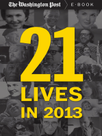 21 Lives in 2013