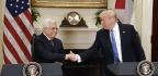 Trump Says He Wants To Help Mediate Israeli-Palestinian Peace Deal