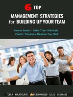 6 Top Management Strategies for Building Up Productive Staff