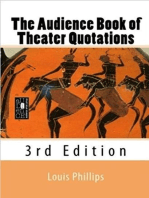 The Audience Book of Theater Quotations