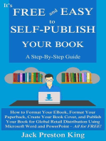 It's Free and Easy to Self-Publish Your Book