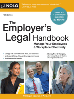 Employer's Legal Handbook, The