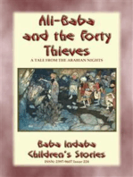 ALI BABA AND THE FORTY THIEVES - A Children's Story from 1001 Arabian Nights