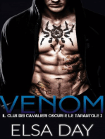 Venom il club dei Cavalieri Oscuri e le Tarantole