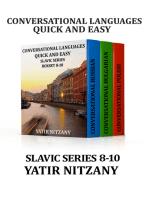 Conversational Languages Quick and Easy Boxset 8-10