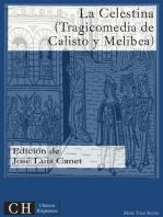La Celestina (Tragicomedia de Calisto y Melibea)