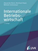 Internationale Betriebswirtschaft