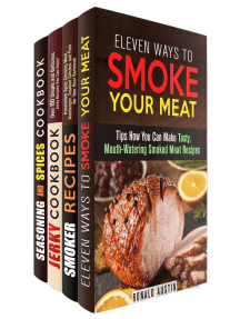 Smoke Your Meat: Mouthwatering Smoked Meat Recipes, Jerky Cookbook and Spice Mixes for Your Best Barbecue: Real BBQ & Smoker Recipes