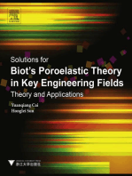 Solutions for Biot's Poroelastic Theory in Key Engineering Fields