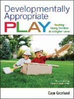 Developmentally Appropriate Play