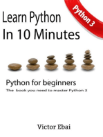 Learn Python in 10 Minutes