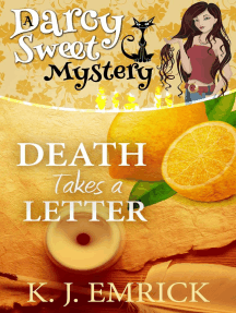 Death Takes a Letter: Darcy Sweet Mystery, #21