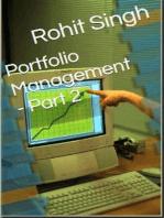 Portfolio Management - Part 2: Portfolio Management, #2