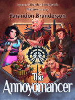 The Annoyomancer - A parody of Brandon Sanderson's Mistborn Series