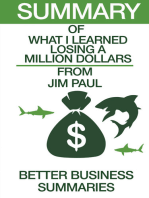 What I learned Losing A Million Dollars | Summary