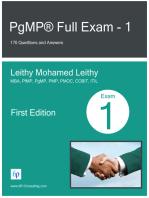 PgMP® Full Exam
