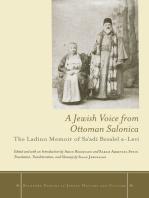 A Jewish Voice from Ottoman Salonica: The Ladino Memoir of Sa'adi Besalel a-Levi