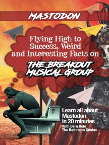 Mastodon: Flying High to Success Weird and Interesting Facts on The Breakout Musical Group
