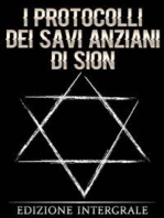 I protocolli dei savi anziani di Sion