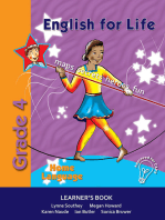 English for Life Learner's Book Grade 4 Home Language