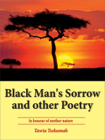Black Man's Sorrow and Other Poetry