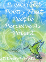 Prescribed Poetry That People Perceive As Potent