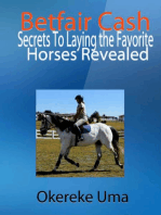 Betfair Cash - Secrets To Laying the Favorite Horses Revealed
