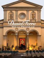 20 anni DANIEL FERRO VOCAL PROGRAM