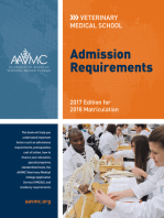 Veterinary Medical School Admission Requirements (VMSAR): 2017 Edition for 2018 Matriculation
