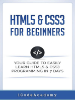 HTML5 & CSS3 For Beginners
