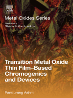 Transition Metal Oxide Thin Film-Based Chromogenics and Devices