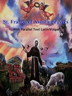 St. Francis of Assisi's Prayers