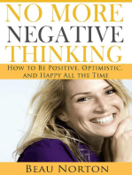 No More Negative Thinking