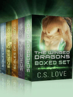 Paranormal Shifter Romance The Winged Dragons Box Set BBW Dragon Shifter Paranormal Romance