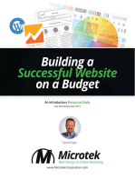 Building a Successful Website on a Budget