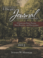 A Disciple's Journal 2015