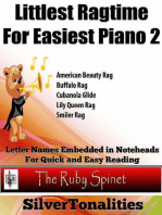 Littlest Ragtime for Easy Piano 2