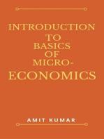 Introduction to Basics of Micro-Economics: economics-1