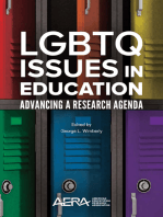 LGBTQ Issues in Education: Advancing a Research Agenda