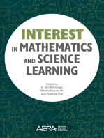Interest in Mathematics and Science Learning