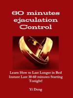 60 Minutes Ejaculation Control
