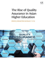 The Rise of Quality Assurance in Asian Higher Education