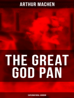 THE GREAT GOD PAN (Supernatural Horror)