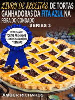 Livro De Receitas De Tortas Ganhadoras Da Fita Azul Na Feira Do Condado