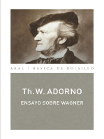 Ensayo sobre Wagner (Monografías musicales)