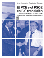 El PCE y el PSOE en la Transición: La evolución ideológica de la izquierda durante el proceso de cambio político