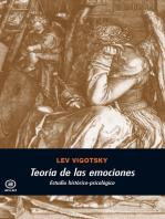 Teoría de las emociones: Estudio histórico-psicológico