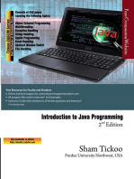 Introduction to Java Programming, 2nd Edition