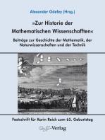 Zur Historie der Mathematischen Wissenschafften