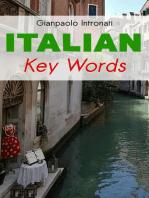 Italian Key Words